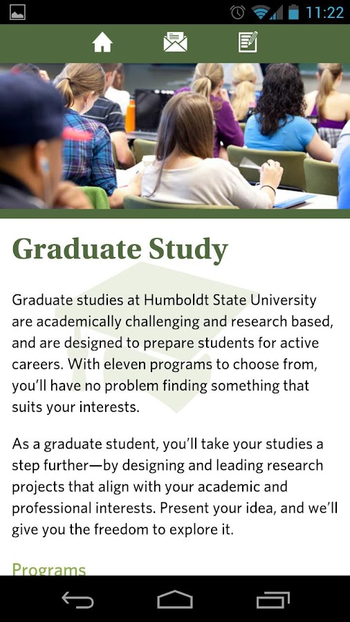 Humboldt State University- screenshot