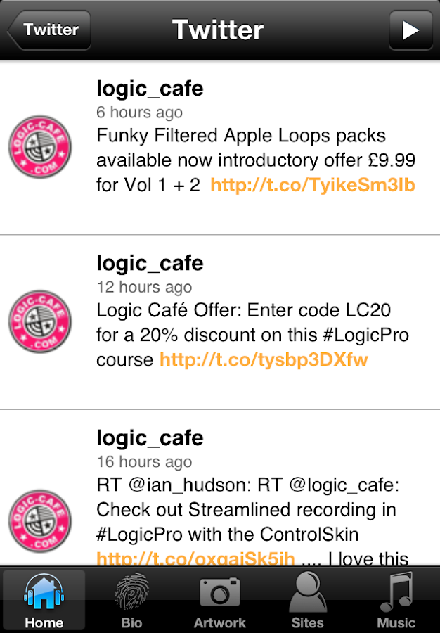 Logic Cafe - screenshot
