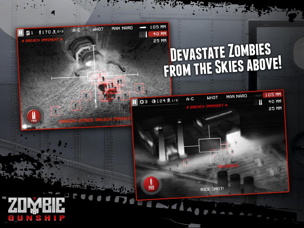 Zombie Gunship screenshot #9