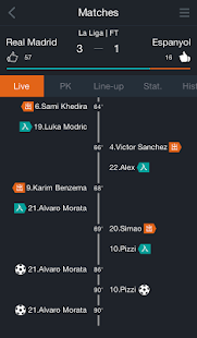 KICK OFF - LiveScore, News - screenshot thumbnail