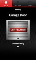 Screenshot of Craftsman Garage Door