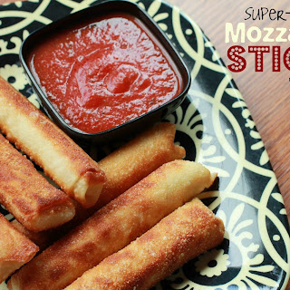 Super-Easy Mozzarella Sticks