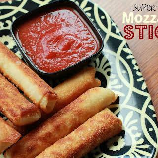 Super-Easy Mozzarella Sticks.
