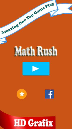 Math Rush-Best educational app