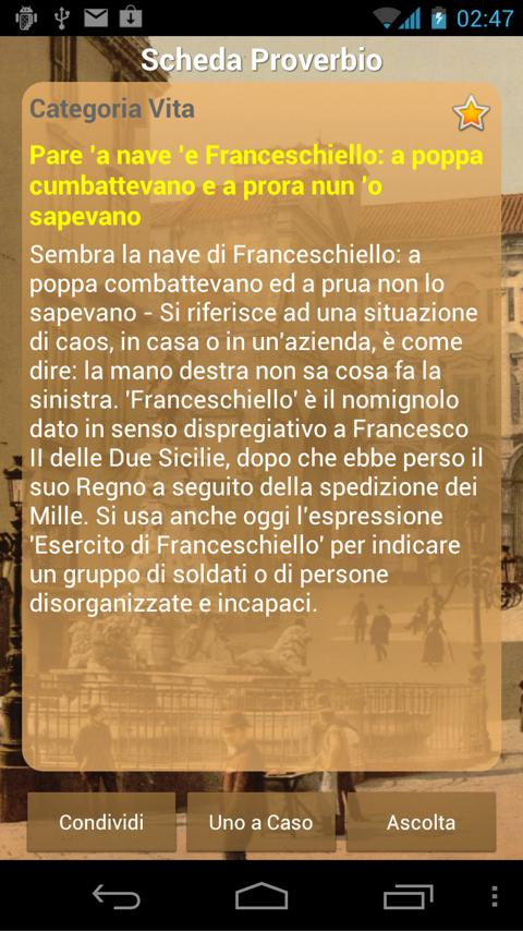 Proverbs of Naples- screenshot