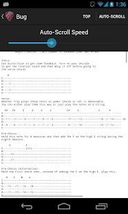 Phish Tabs - screenshot thumbnail