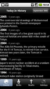 【免費新聞App】Today In History-APP點子