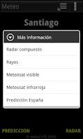 Screenshot of Meteo Widget