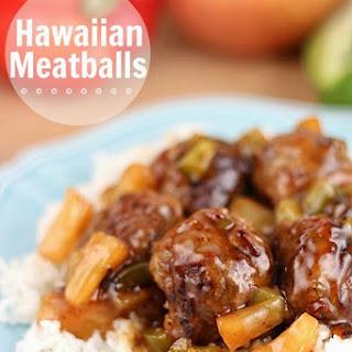 Hawaiian Meatballs.
