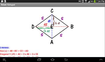 Screenshot of Rumus Bangun Datar