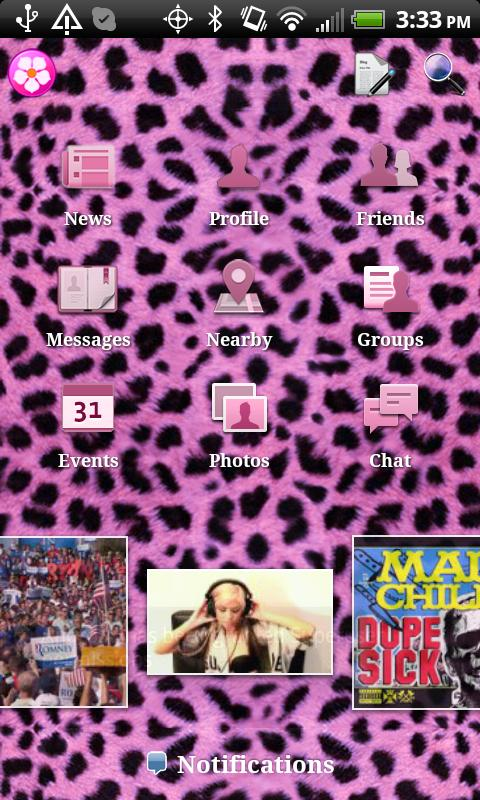 Cheetah Theme for Facebook- screenshot