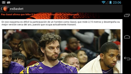 es Basket - screenshot thumbnail