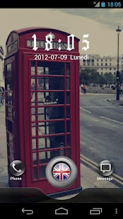 London GO Locker Theme - screenshot thumbnail