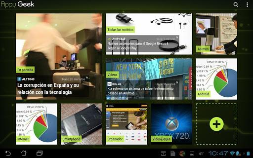 Appy Geek, aplicación móvil para leer noticias de tecnología