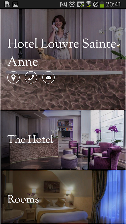 Hotel Louvre Sainte-Anne - screenshot
