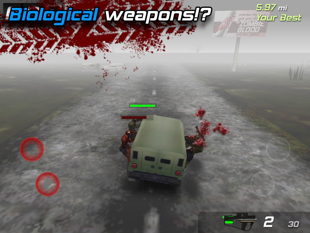 Zombie Highway- screenshot