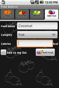 Food Balance - screenshot thumbnail