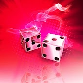 Smoking dice red 480x800