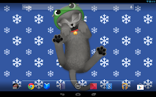 Screenshot of HD Cat Live Wallpaper