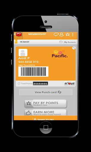 Pacific Mall mLoyal App