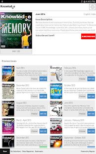 BBC Knowledge Magazine - screenshot thumbnail