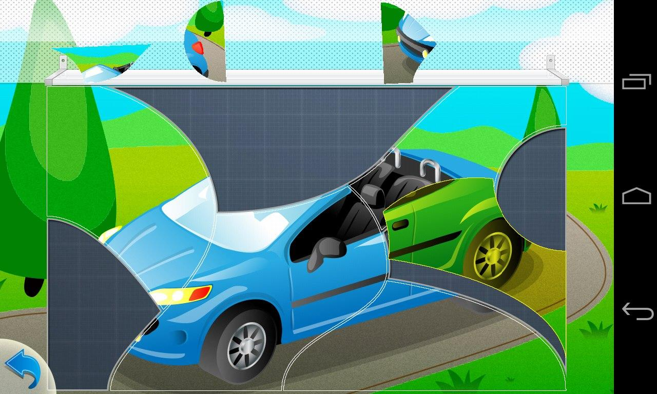 puzzle cars for kids screenshot