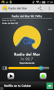 Radio del Mar- screenshot thumbnail