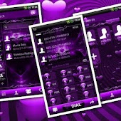 GOContacts theme Valentines