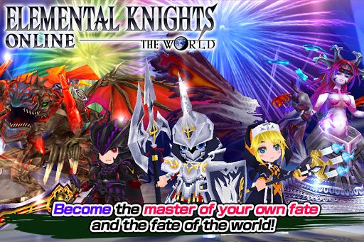 RPG Elemental Knights R (MMO) 4.1.0 screenshots 6