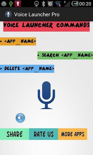 Voice Launcher Pro