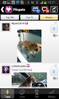 Screenshot of Pets: Pics of your Cat or Dog