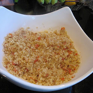 Cauliflower Rice Recipe Gluten Free - Diabetic Friendly