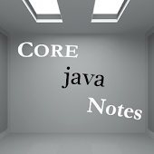 Core java notes