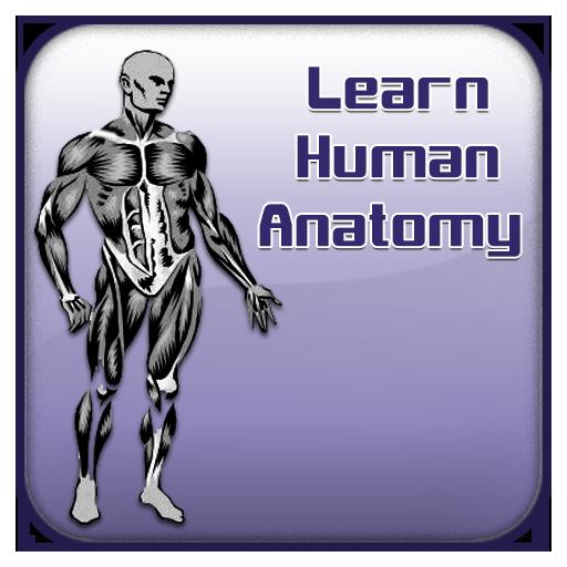 Learn Human Anatomy Guide 書籍 App LOGO-APP試玩