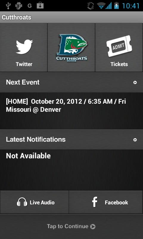 Denver Cutthroats - screenshot