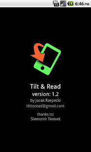 Tilt & Read - Free - screenshot thumbnail