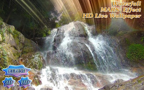 Waterfall Mars Effect- screenshot thumbnail