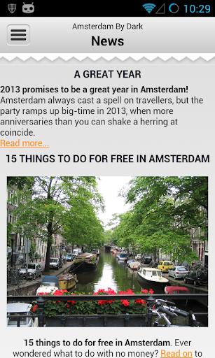 Amsterdam By Dark