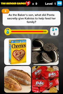 Hunger Games Tributes Trivia - screenshot thumbnail