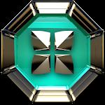 Next Launcher Theme Triqua v2.40