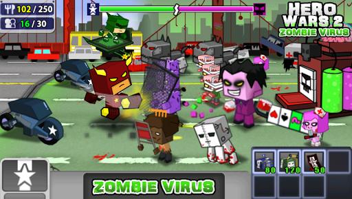 Hero Wars 2: 좀비 바이러스