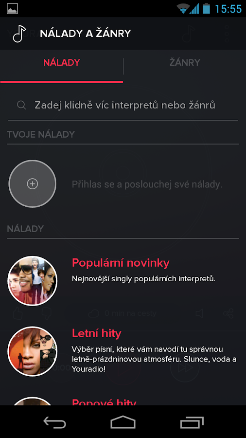 Youradio - screenshot