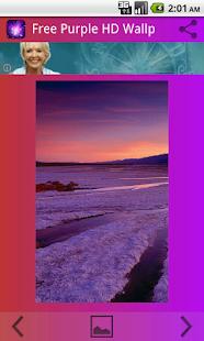 Purple Zdarma Tapety na plochu - náhled