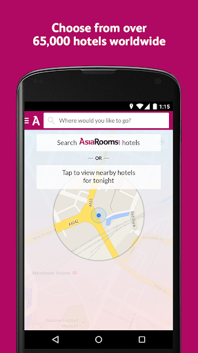 AsiaRooms: Hotel Booking