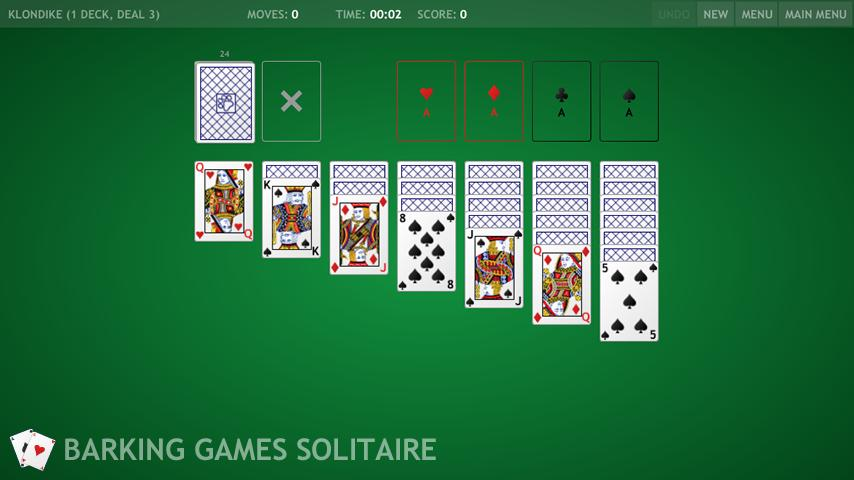Barking Games Solitaire - screenshot
