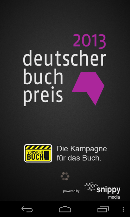 Buchpreis- screenshot