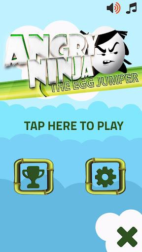 【免費冒險App】ANGRY NINJA - The egg jumper-APP點子