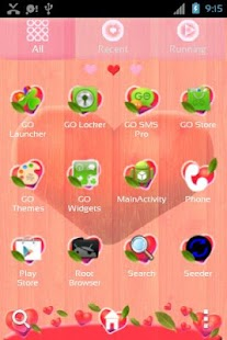 Valentine Heart Launcher Theme- screenshot thumbnail