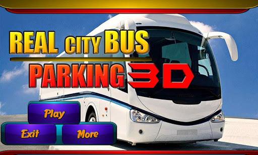 真正的城市公交車停車3D
