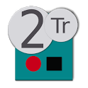 Twotrack audio recorder free icon